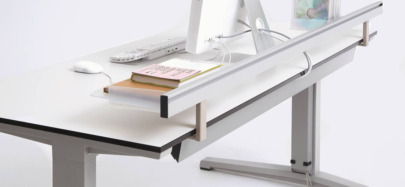 activa, mesa, oficinas, mobiliario