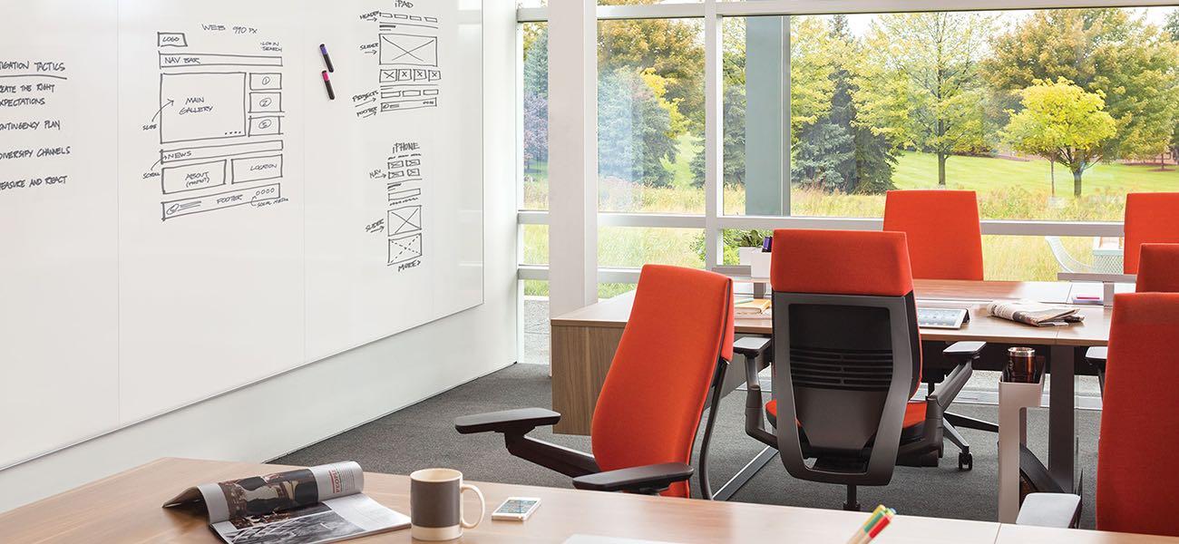 gesture, silla, oficinas, mobiliario