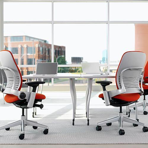 leap, silla, oficinas, mobiliario