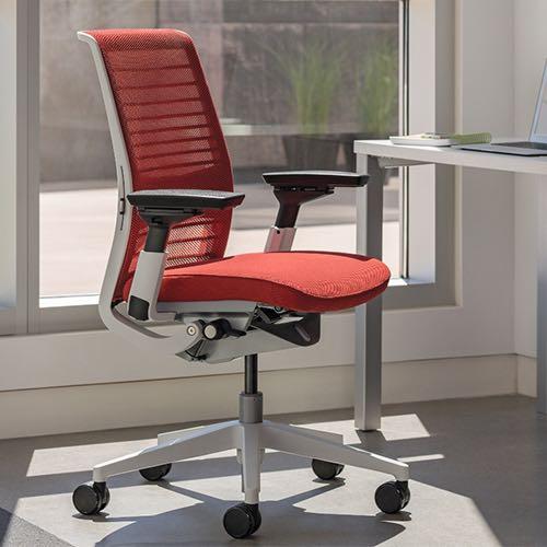 think, silla, oficinas, mobiliario