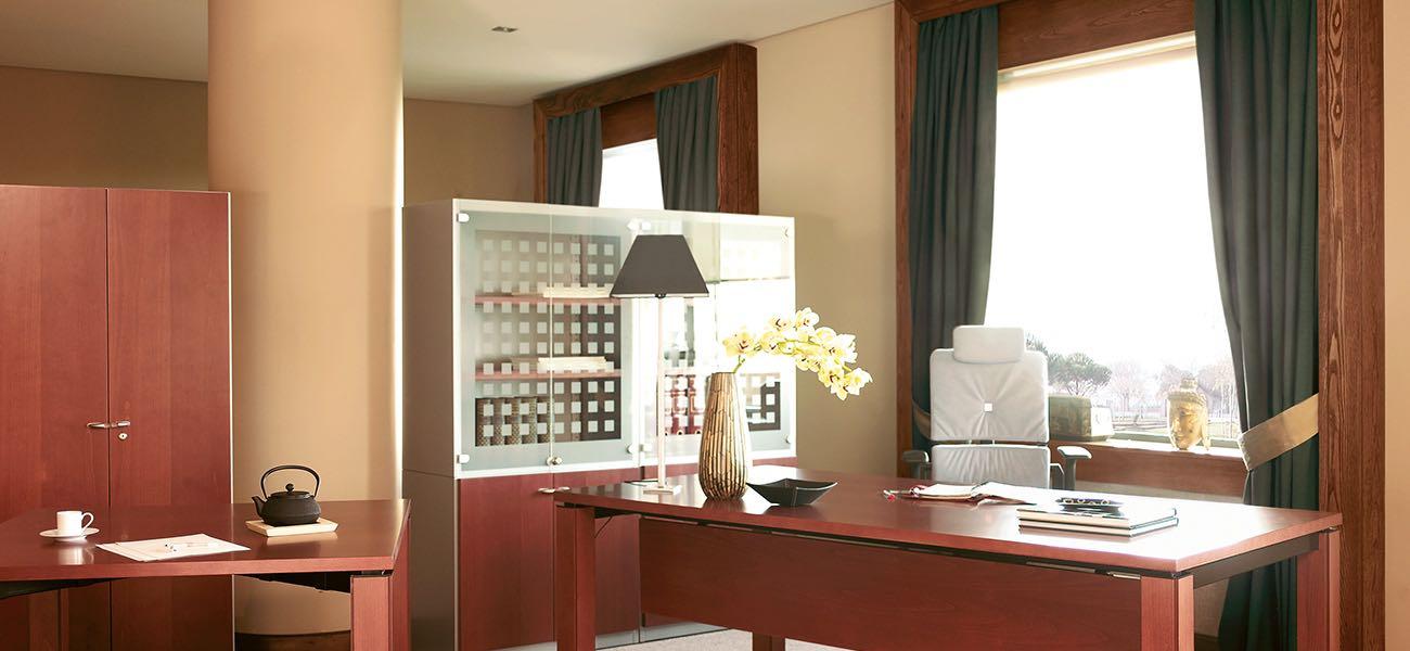 xavi aqua, mesa, oficinas, mobiliario