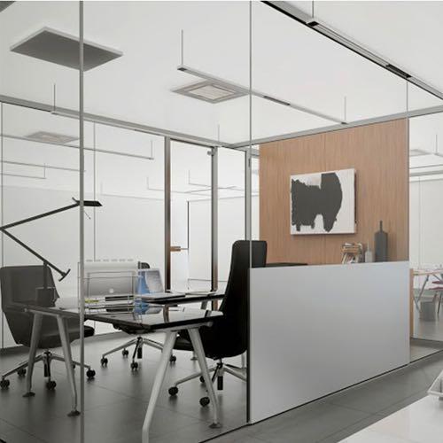 bamer slim, mampara, compartimentación, oficina, empresa
